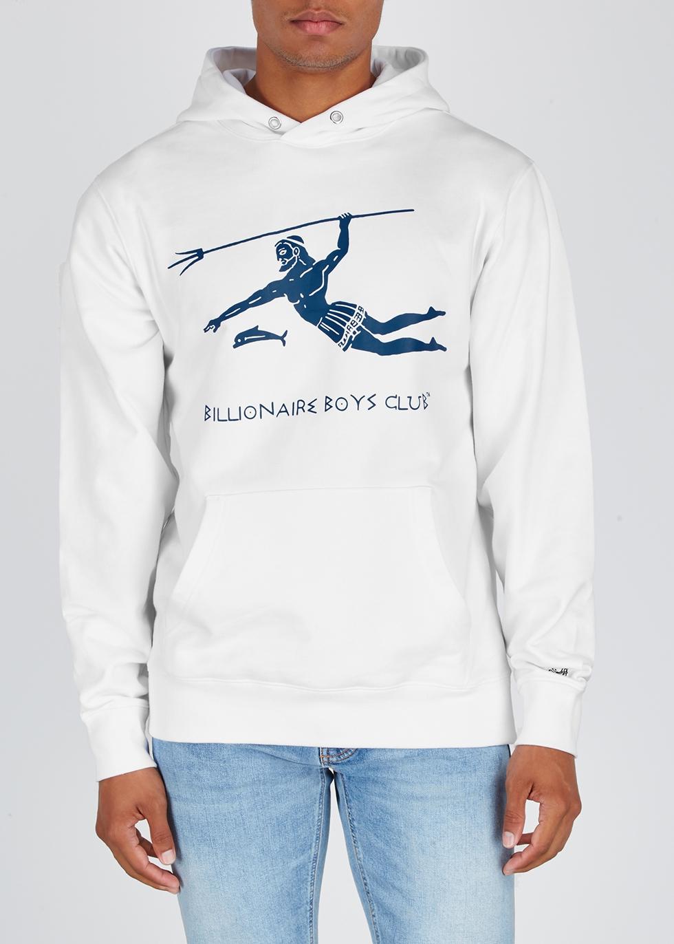 Neptune white jersey sweatshirt - Billionaire Boys Club
