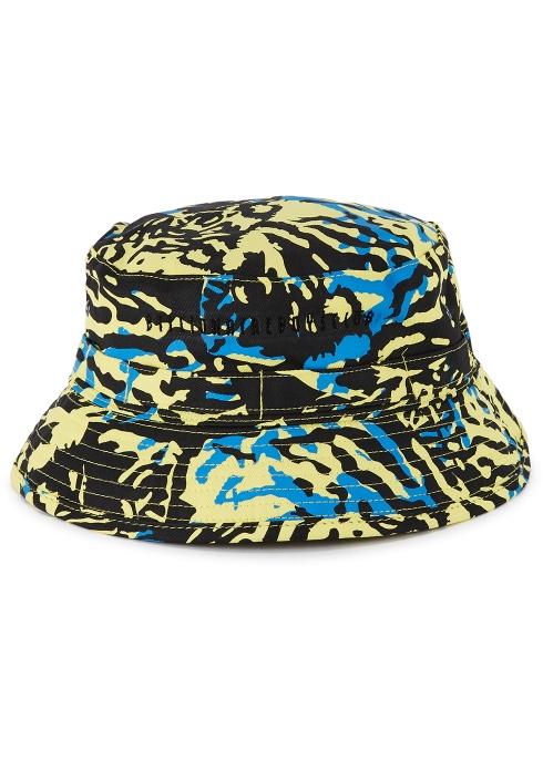 59622f3e2acd7 Billionaire Boys Club Yellow printed cotton twill bucket hat ...