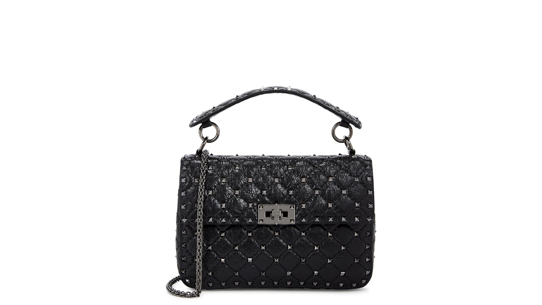 0d238f92dc Valentino Garavani Rockstud Spike medium shoulder bag - Harvey Nichols