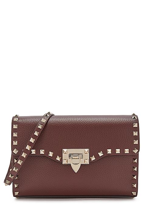 2c73e2a26df Valentino Garavani Rockstud small leather shoulder bag - Harvey Nichols