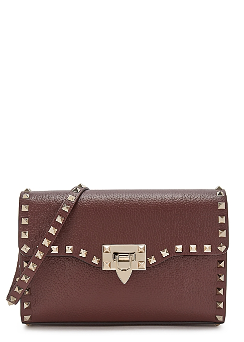fc9ee6134ac Valentino Garavani Rockstud small leather shoulder bag - Harvey Nichols