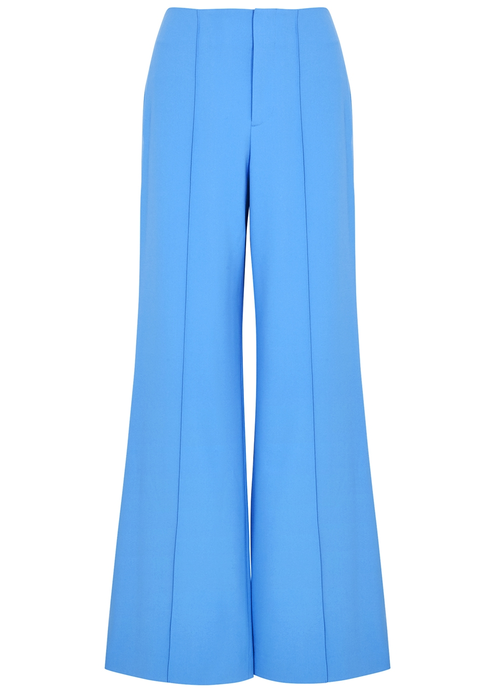 Dylan blue wide-leg trousers - Alice + Olivia