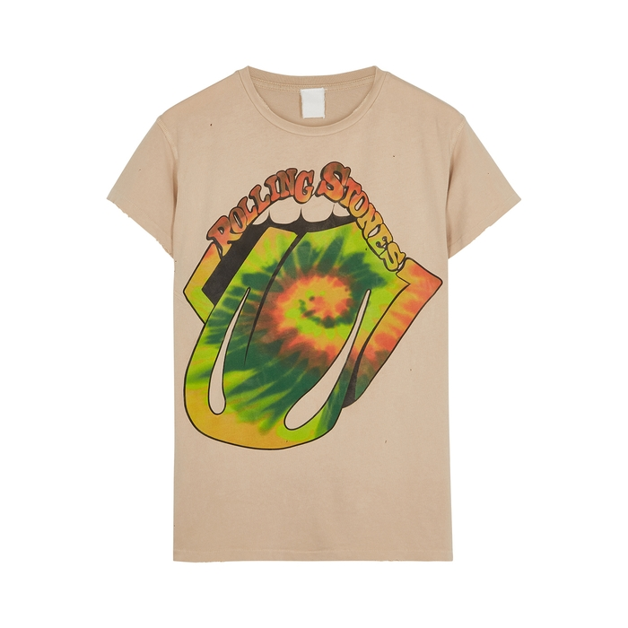 Madeworn ROLLING STONES PRINTED COTTON T-SHIRT