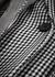 Layered checked wool blazer - Alexander McQueen