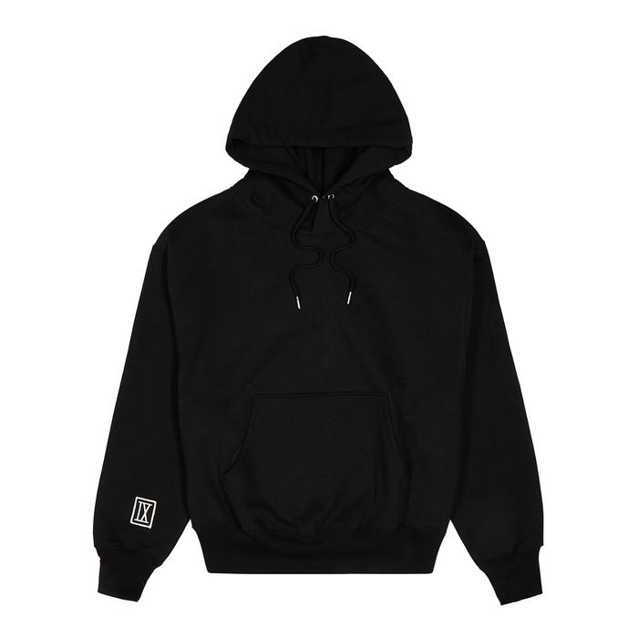 AMI Black Cotton-blend Sweatshirt