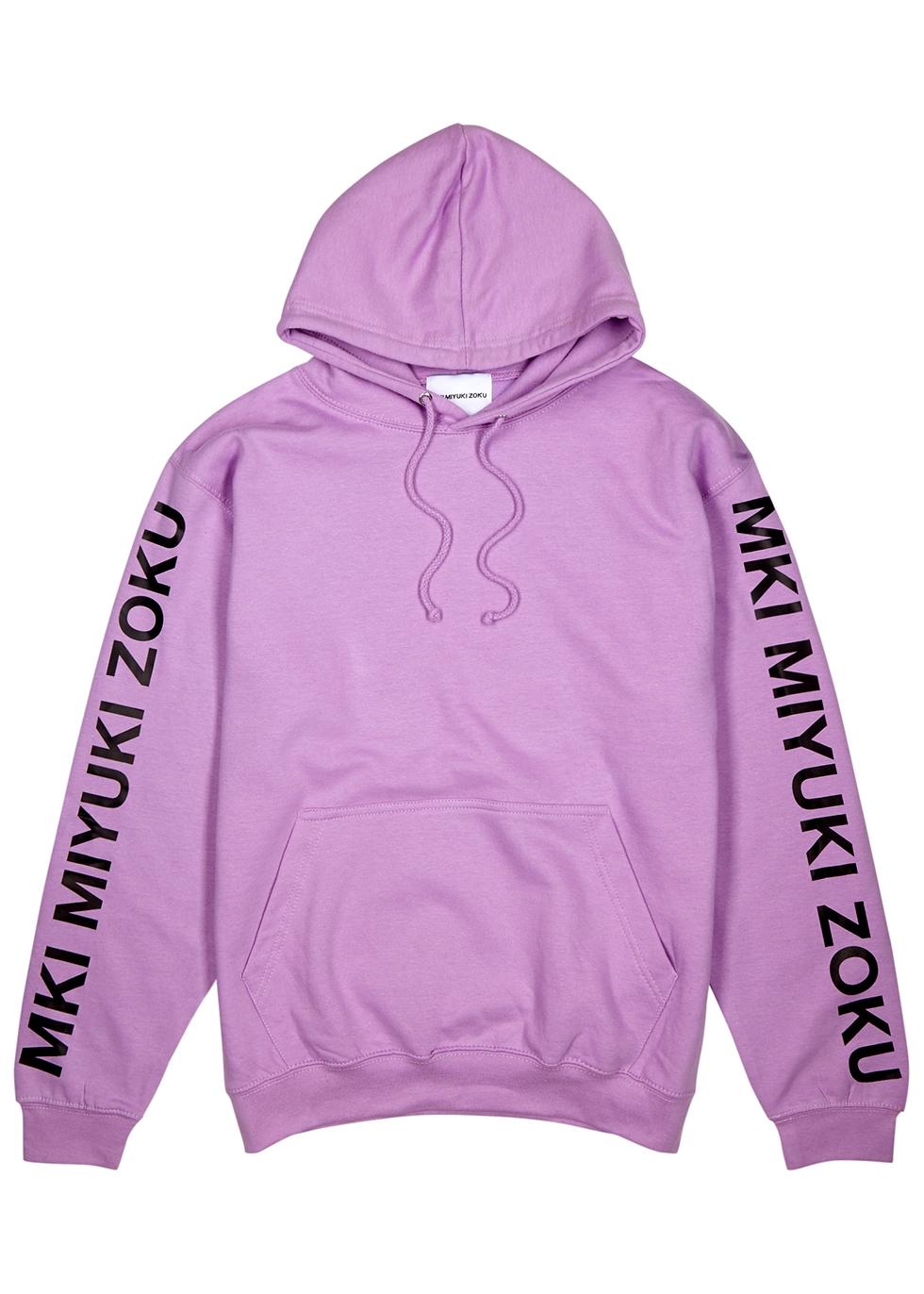 MKI MIYUKI ZOKU | Mki Miyuki Zoku Lilac Cotton-Blend Sweatshirt | Goxip