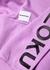 Lilac cotton-blend sweatshirt - Mki Miyuki Zoku