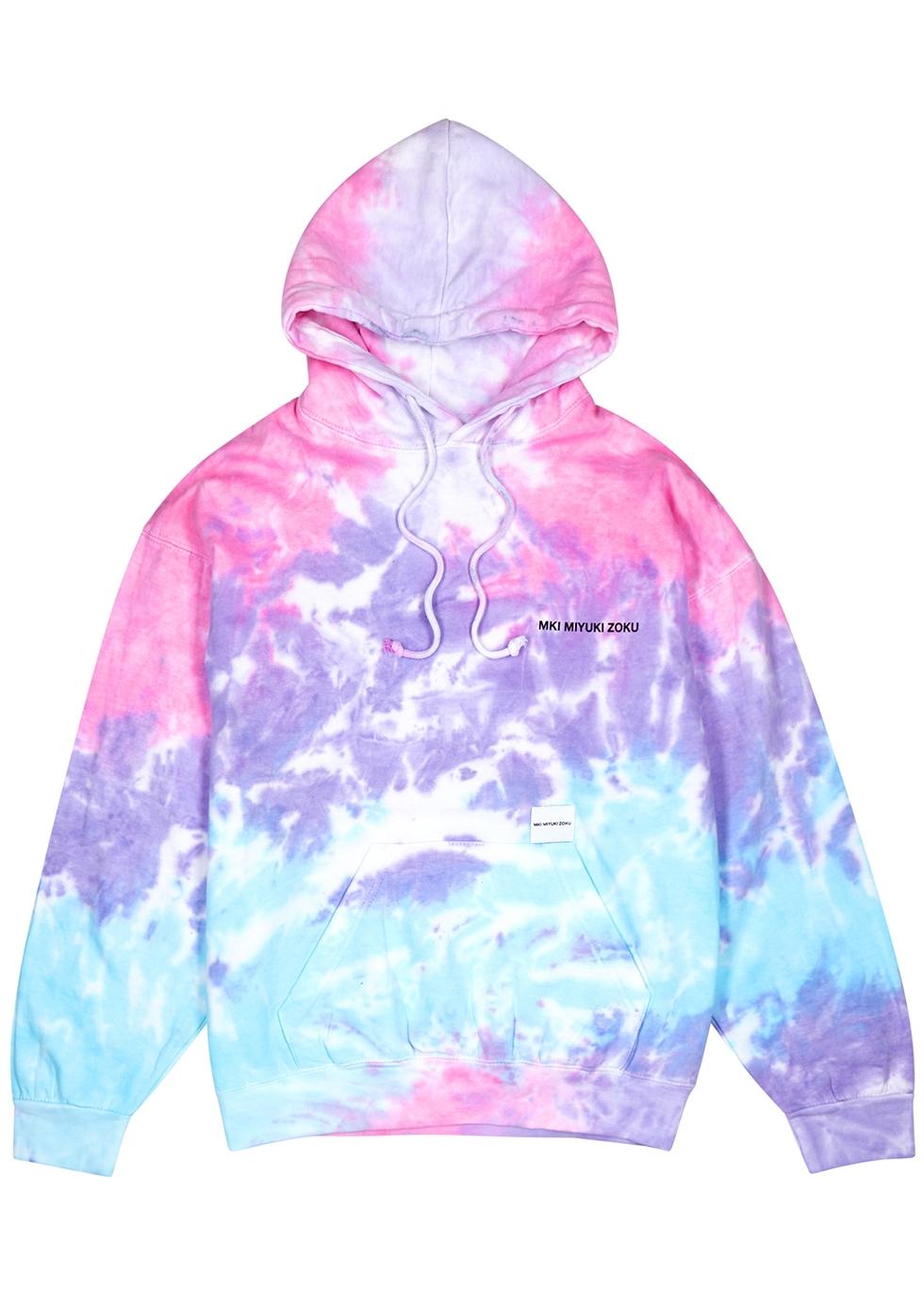 MKI MIYUKI ZOKU | Mki Miyuki Zoku Tie Dye Cotton-Blend Sweatshirt | Goxip