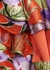 Zabel floral-devoré wrap top - Alice + Olivia