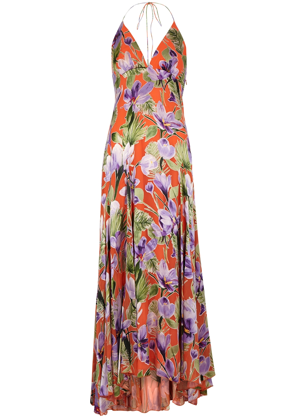 Hetty floral-devoré maxi dress - Alice + Olivia