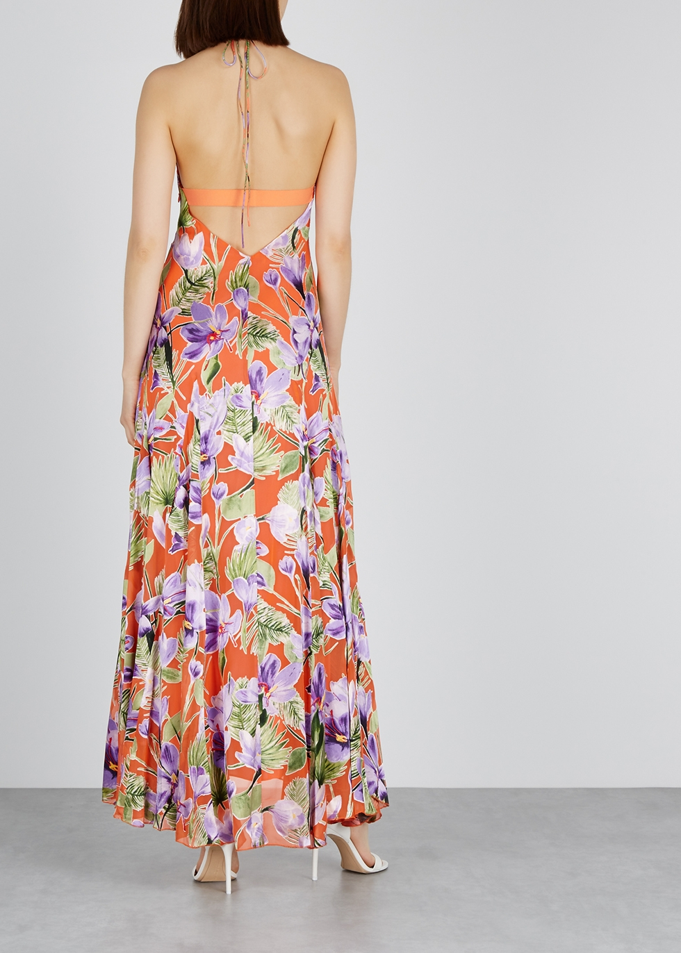 Floral Maxi Harvey Nichols AliceOlivia Devoré Dress Hetty tQxhrBsdC