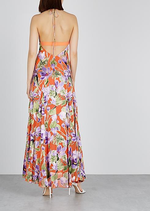 334fb7b7cc3a Alice + Olivia Hetty floral-devoré maxi dress - Harvey Nichols