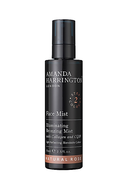 AMANDA HARRINGTON LONDON Face Mist - Natural Rose 75ml - Harvey ...