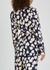 Braelyn navy floral-print jacket - Diane von Furstenberg
