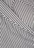 Charleigh stripe-jacquard wrap dress - Diane von Furstenberg