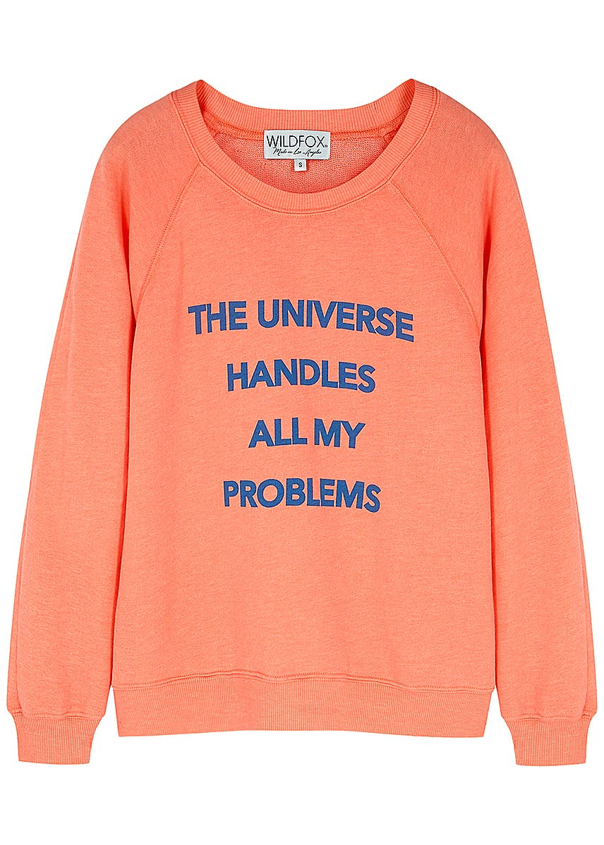 Wildfox Christmas Sweatshirt.Wildfox Harvey Nichols