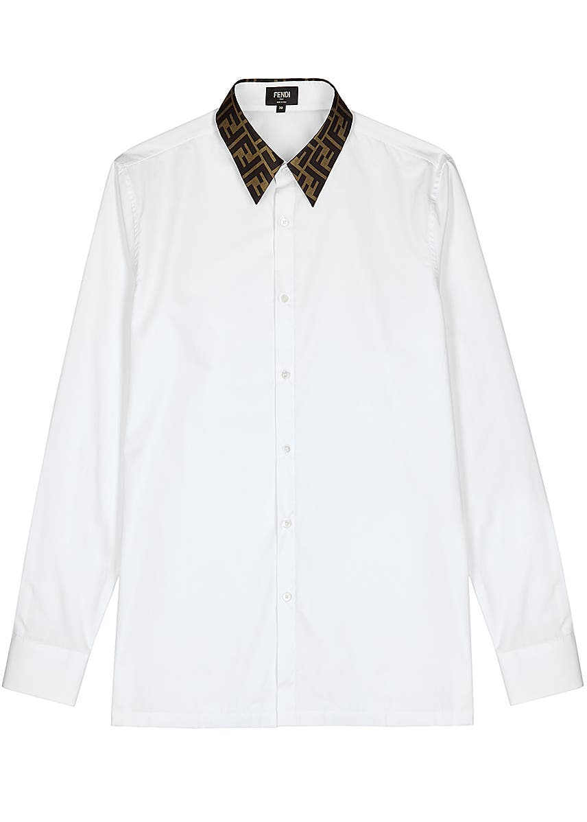d43d90b019 Men's Designer Long-Sleeved Shirts - Harvey Nichols