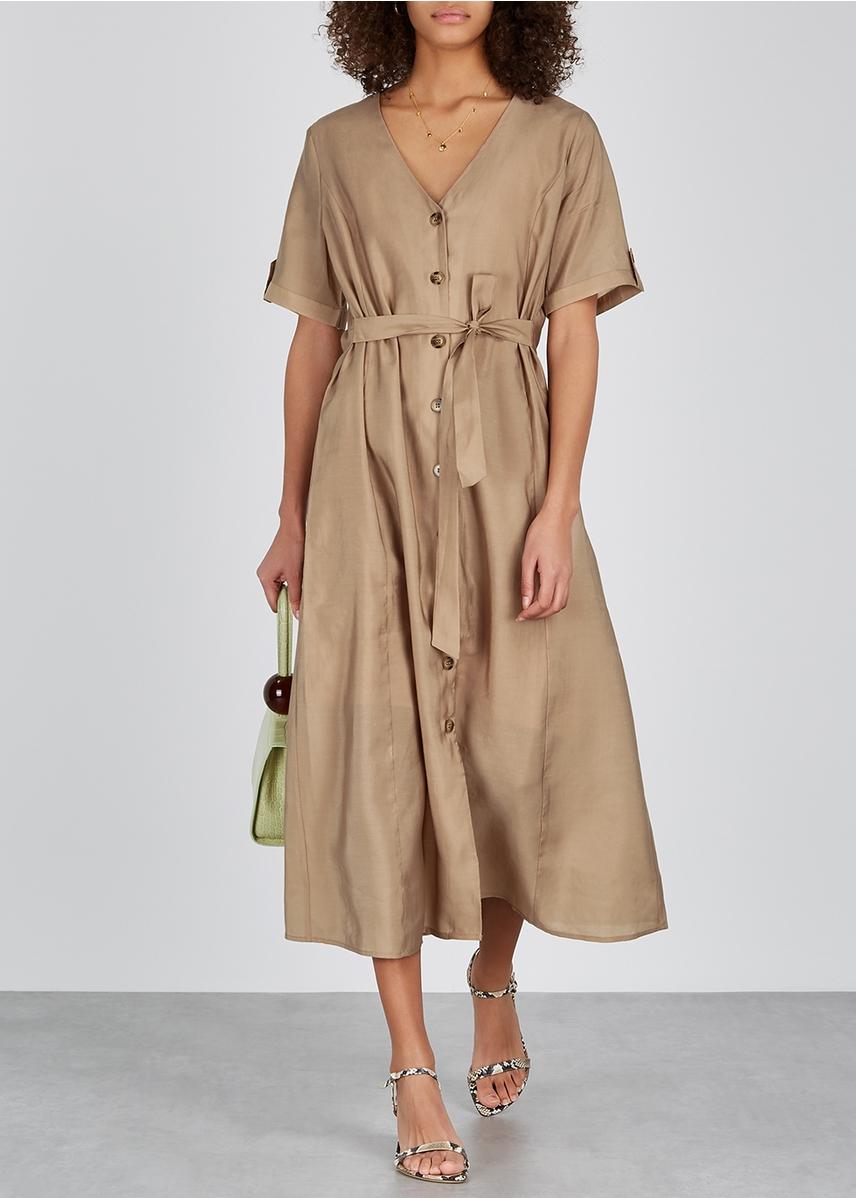 fbe0ec732bac Arienne sand midi dress Arienne sand midi dress