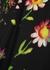 Black floral-print midi skirt - McQ Alexander McQueen