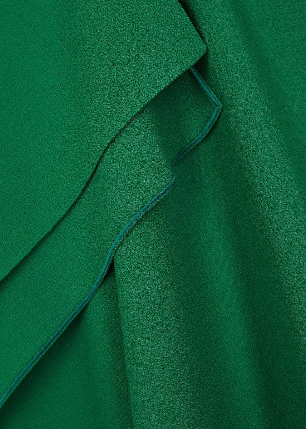 Barwick green wool midi dress - Roland Mouret