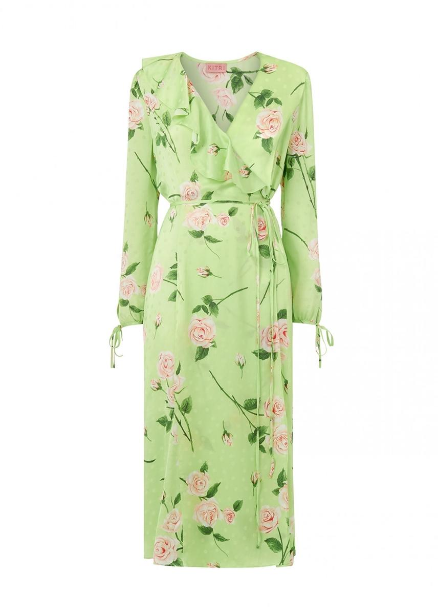 3684b2cf3c Nita rose print wrap dress ...