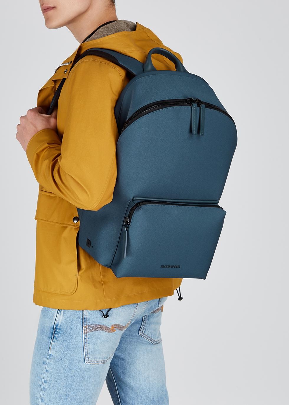 Troubadour Adventure Slipstream canvas backpack Harvey Nichols