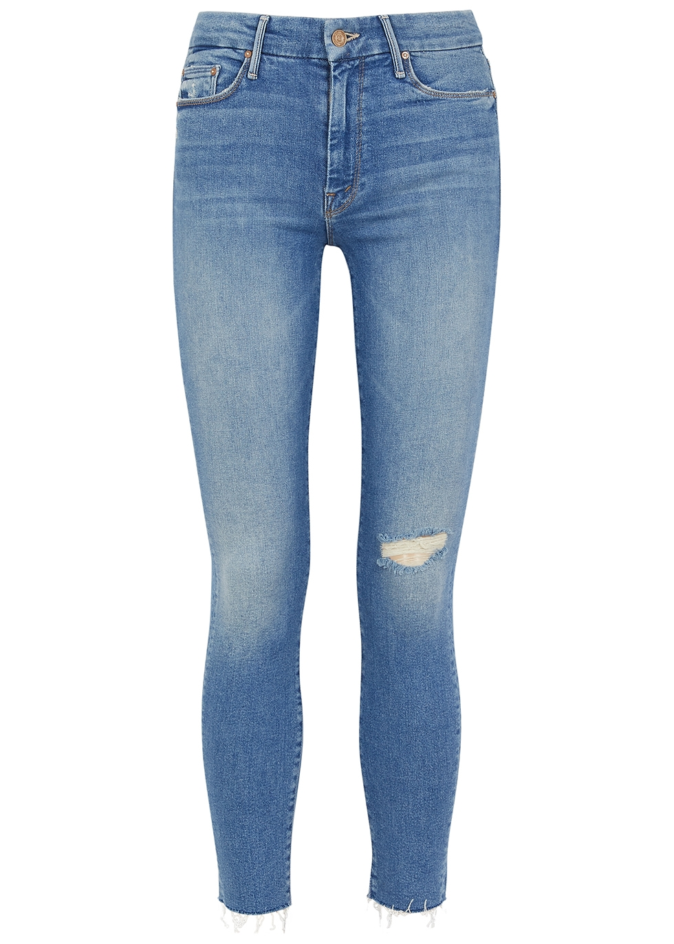 The Looker light blue skinny jeans