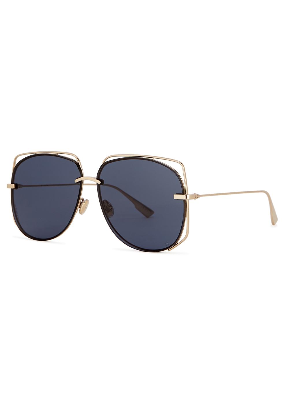 DIOR | Dior DiorStellaire6 Oval-Frame Sunglasses | Goxip
