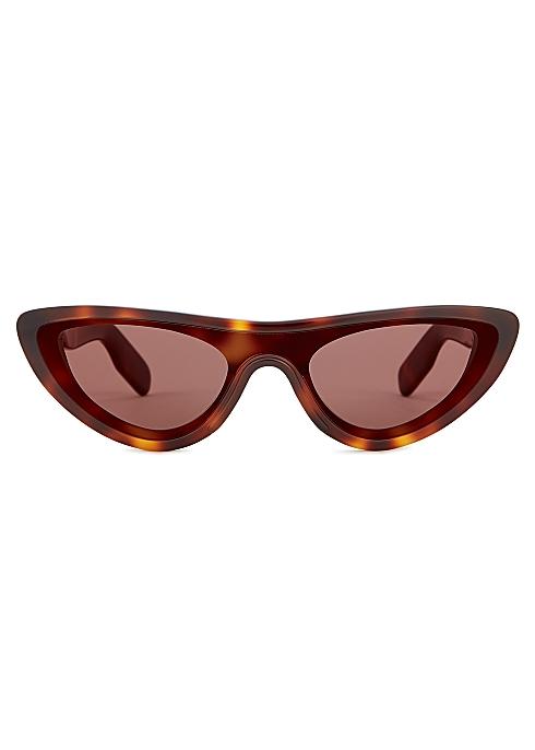 b549af23e4cc Kenzo Tortoiseshell cat-eye sunglasses - Harvey Nichols