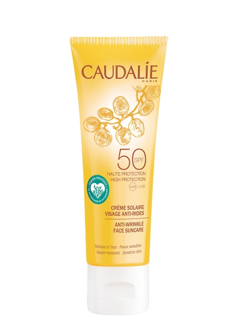 Caudalíe Anti-wrinkle Face Suncare Spf50 50ml