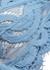 Sky Blue halterneck lace bikini top - PilyQ