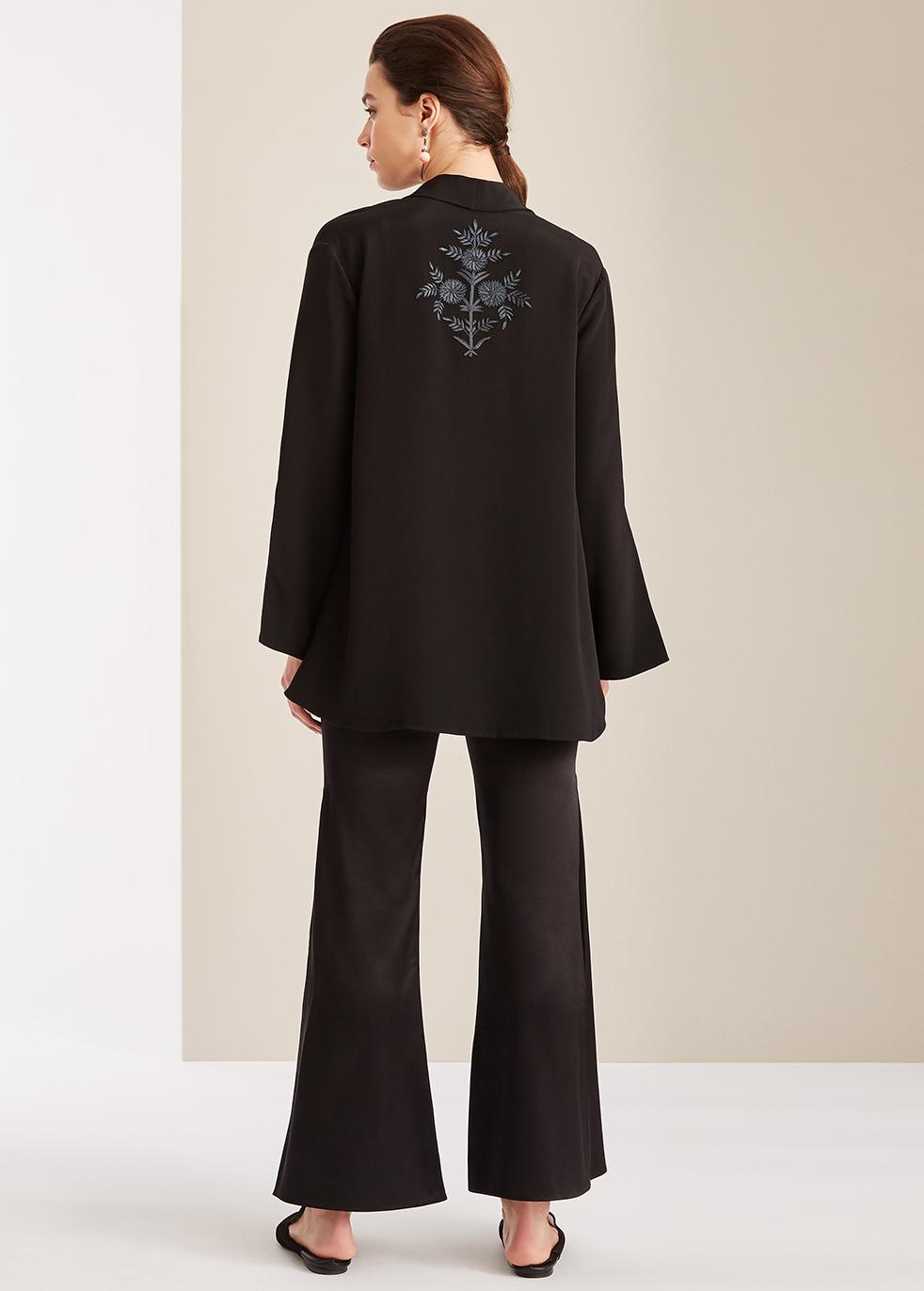 Silk kimono jacket - Varana
