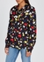 Black club-print blouse - Boutique Moschino