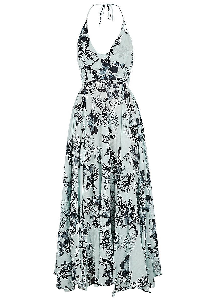 efe3546661c6 Lille printed cotton maxi dress Lille printed cotton maxi dress. New  Season. Free People