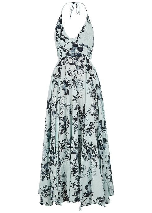 1bb9e058dc9 Free People Lille printed cotton maxi dress - Harvey Nichols