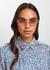 Rosie gold-tone cat eye sunglasses - Chloé