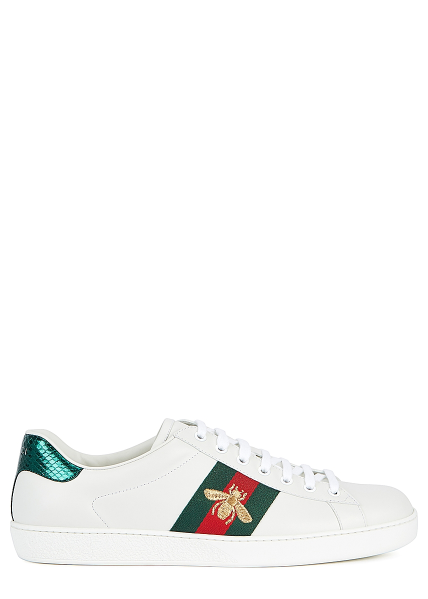 8b3ff09784e New Ace white leather trainers New Ace white leather trainers. New Season.  Gucci