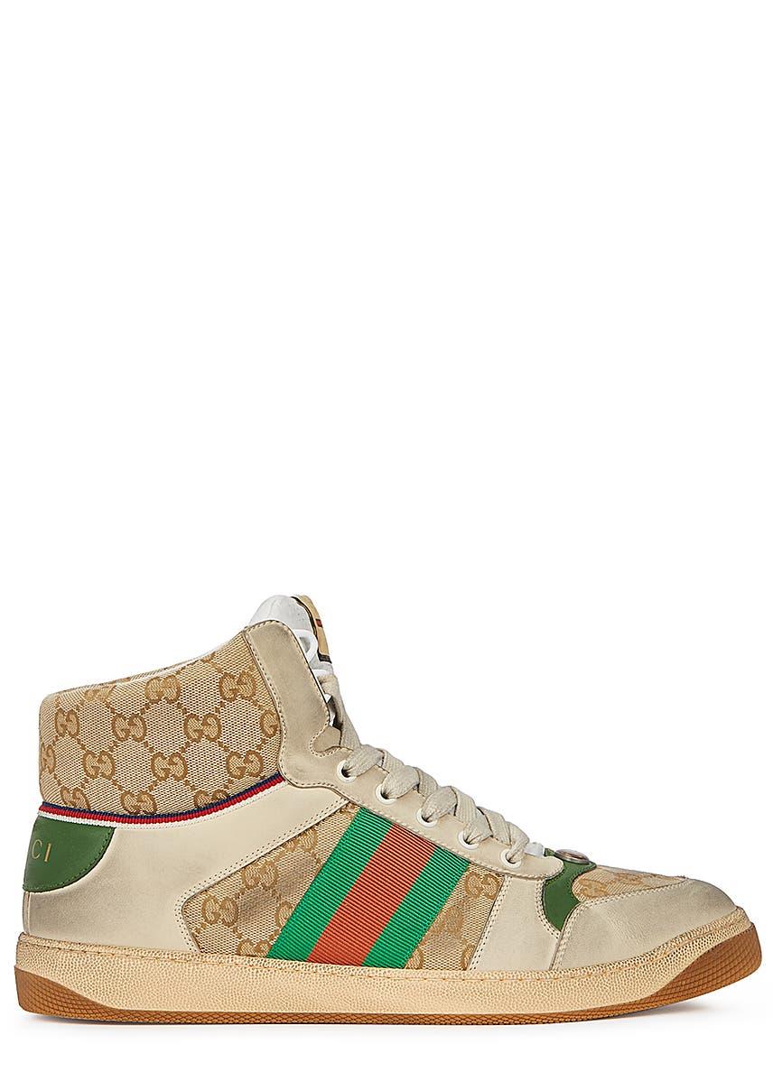 d7103ed81 Screener GG distressed hi-top sneakers ...