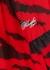 Red zebra-print chiffon dress - Philosophy Di Lorenzo Serafini