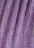 Denisa purple sequin midi dress - Retrofête
