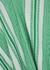 Jenna geometric gauze top - Velvet by Graham & Spencer