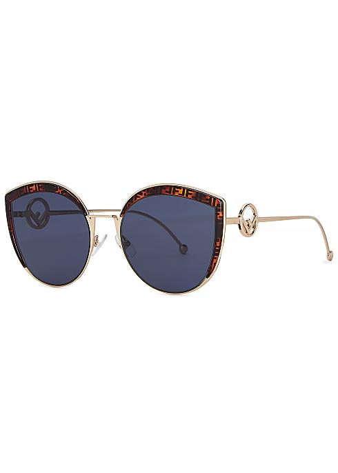 57341e8314 Fendi F Is Fendi cat-eye sunglasses - Harvey Nichols