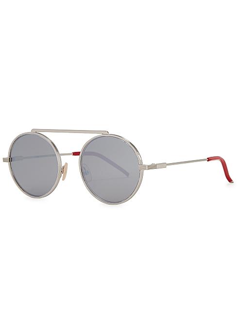 6621e0931 Fendi FF round-frame sunglasses - Harvey Nichols