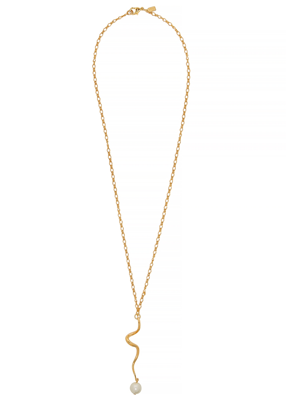 KENNETH JAY LANE | Kenneth Jay Lane Gold-Tone Chain Necklace | Goxip