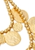 Gold-tone coin necklace - Kenneth Jay Lane