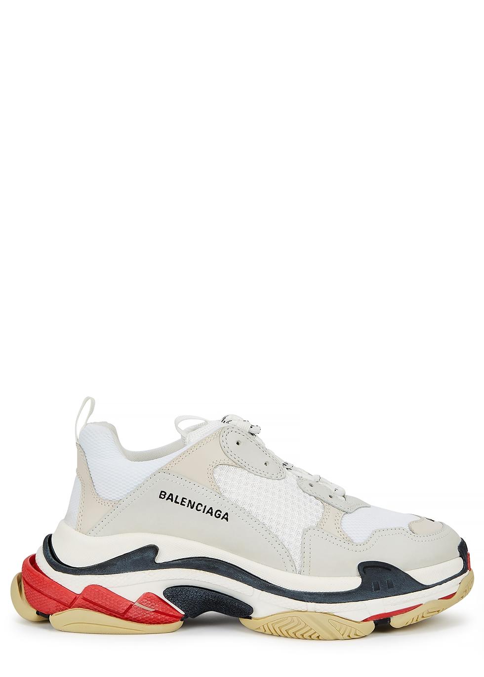 Sneaker Triple S GREEN WHiTE da Uomo Balenciaga
