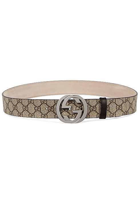 2ff77b97a Gucci GG Supreme monogrammed belt - Harvey Nichols
