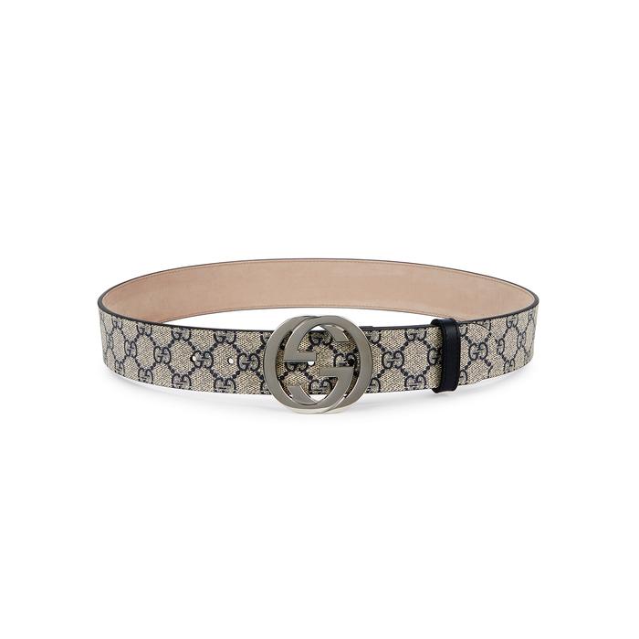 Gucci GG Supreme Monogrammed Belt