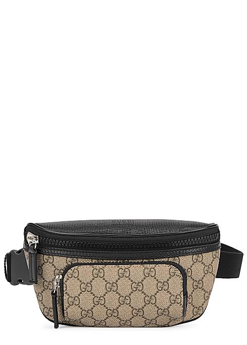 dabf3a71d Gucci GG Supreme monogrammed belt bag - Harvey Nichols