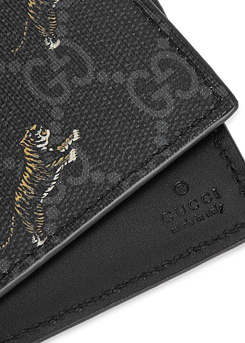 Gucci GG Supreme tiger-print wallet - Harvey Nichols
